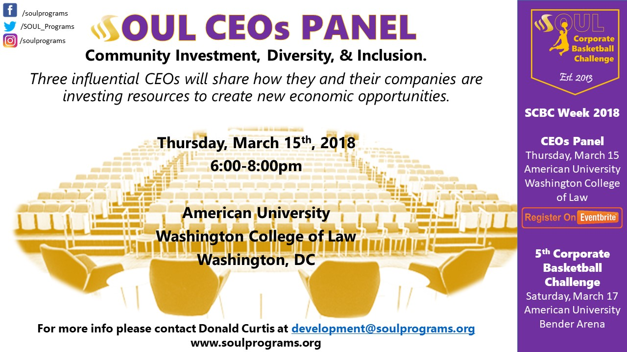 CEOs Panel: Community Investment, Diversity & Inclusion